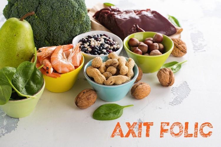 Axit folic và tác dụng với sức khỏe con người