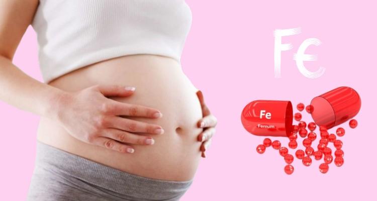 Bổ sung sắt cho bà bầu hợp lý trong quá trình mang thai