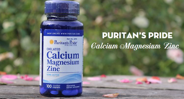 [Review] Công dụng viên uống Puritan's Pride Calcium Magnesium Zinc 100 viên