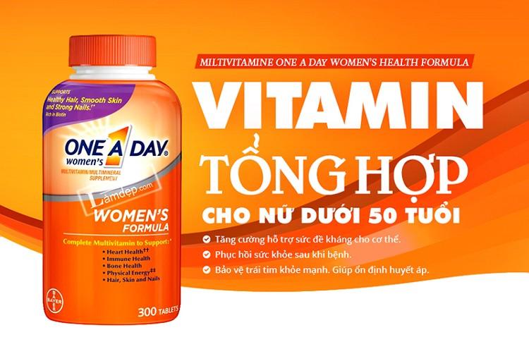 [Review] One A Day Women's Formulacho phụ nữ dưới 50 tuổi