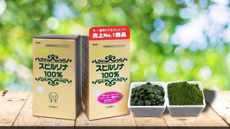 [Review] Tảo xoắn Spirulina Nhật Bản 2200 viên có tác dụng như thế nào với sức khỏe?