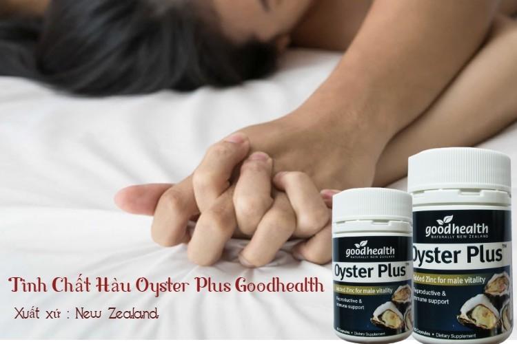 [Review] Tinh Chất Hàu Oyster Plus Goodhealth tăng cường sinh lực phái mạnh