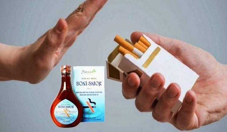[Review] Nước súc miệng Boni-Smok hỗ trợ cai thuốc lá