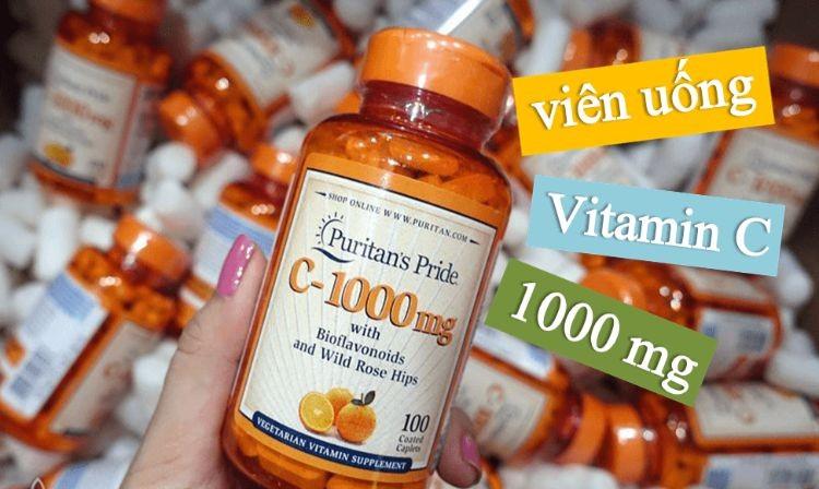 [Review] Viên uống vitamin C Puritan's Pride có tốt không?