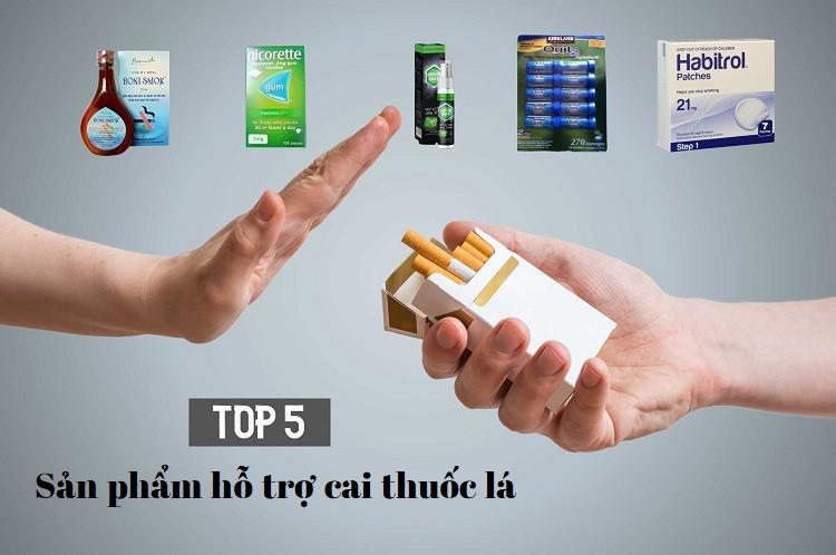 Top 5 sản phẩm cai thuốc lá an toàn, hiệu quả