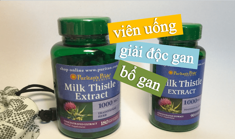 [Review] Milk Thistle Extract hỗ trợ cải thiện chức năng gan