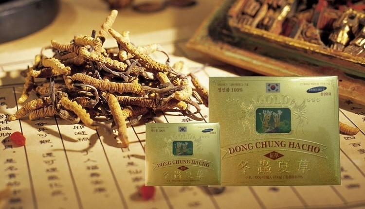 Review viên uống đông trùng hạ thảo Hàn Quốc Samsung Gold