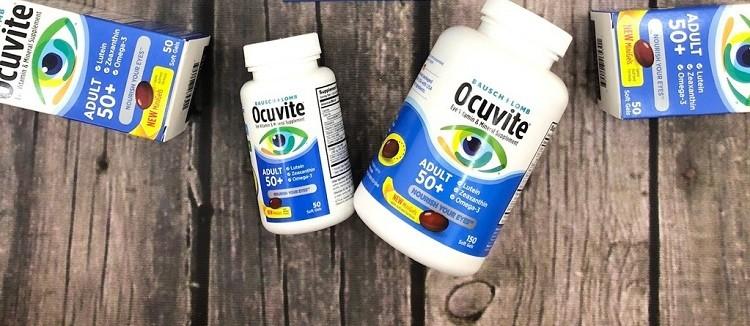 Thuốc bổ mắt Ocuvite Adult 50+ cho người trên 50 tuổi của Mỹ
