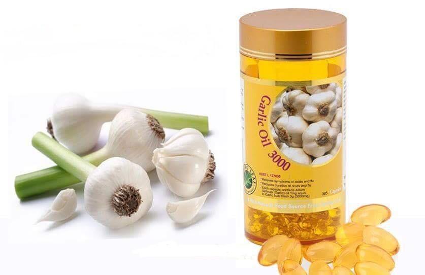 Review tinh dầu tỏi Spring Leaf Garlic Oil 3000mg