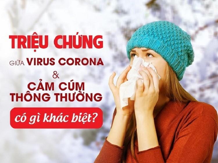 Phân biệt Corona và cúm thông thường: Có gì khác nhau?