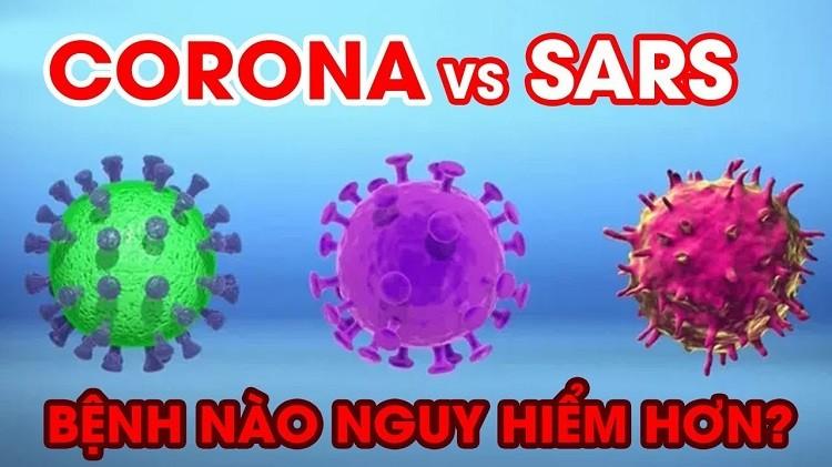 So sánh độ nguy hiểm của virus corona mới và virus SARS-CoV