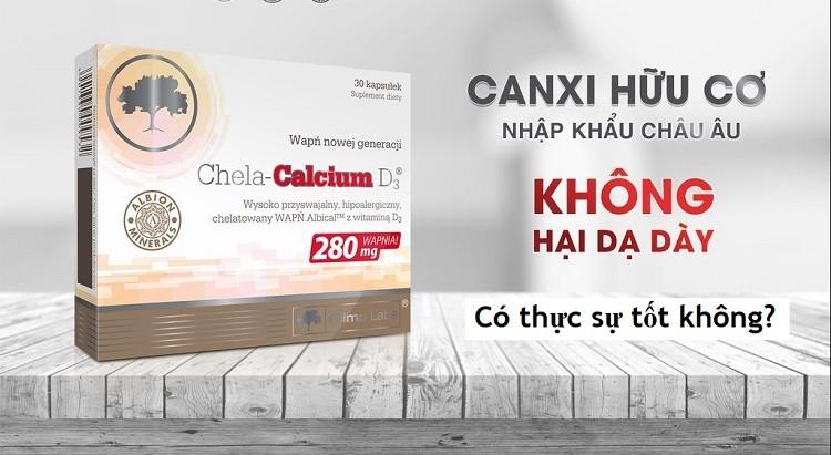 [Vạch trần] Canxi Chela Calcium D3 có tốt không