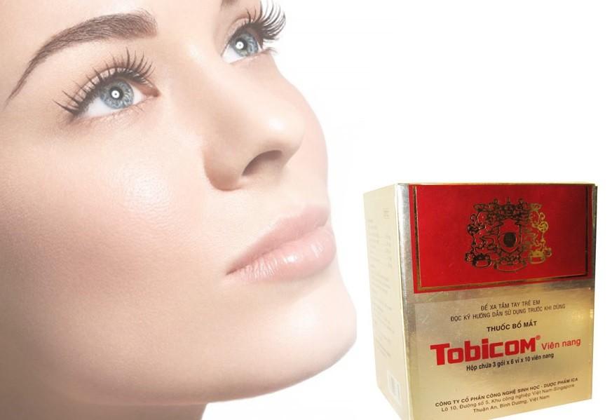 Thuốc bổ mắt Tobicom uống như thế nào?