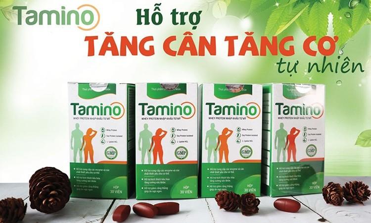 Thuốc tăng cân Tamino review chi tiết