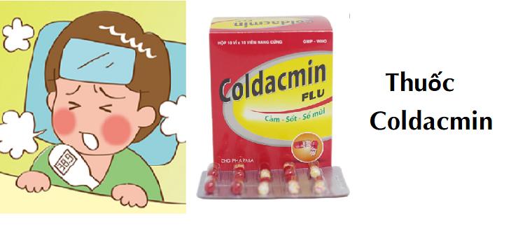 Thuốc Coldacmin giảm đau hạ sốt: Công dụng, liều dùng, lưu ý khi sử dụng