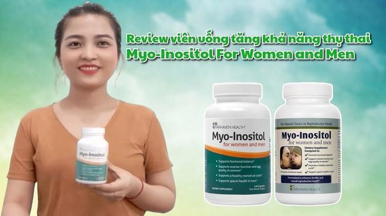Review thuốc Myo-Inositol - Buồng trứng đa nang vẫn có thể thụ thai