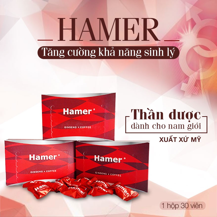 Kẹo sâm Hamer có tốt không? Có tác dụng gì?