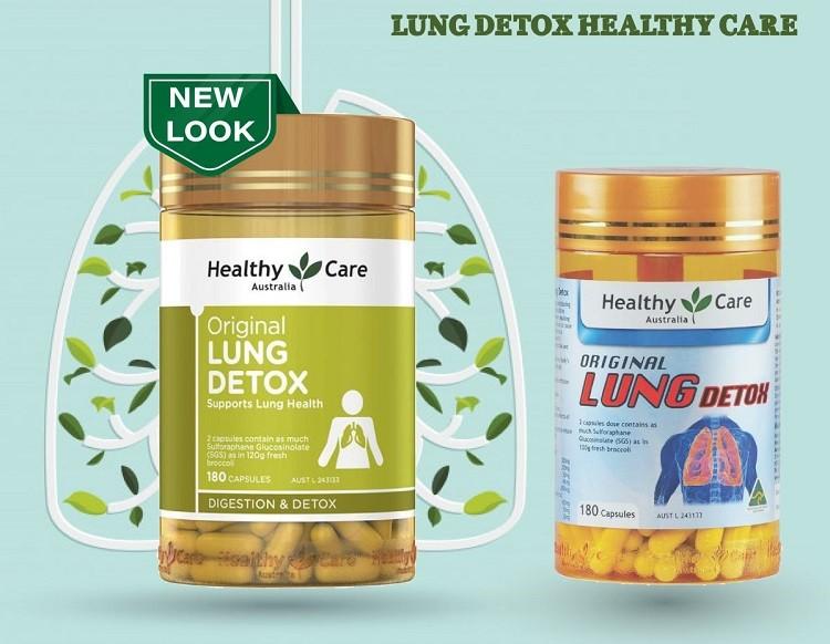 Review viên thải độc phổi Healthy Care Original Lung Detox có tốt không