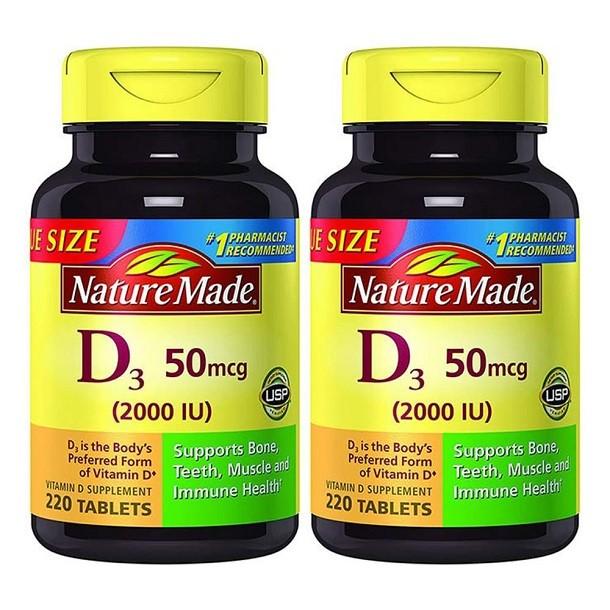 Review viên uống Nature Made Vitamin D3 của Mỹ có tốt không?