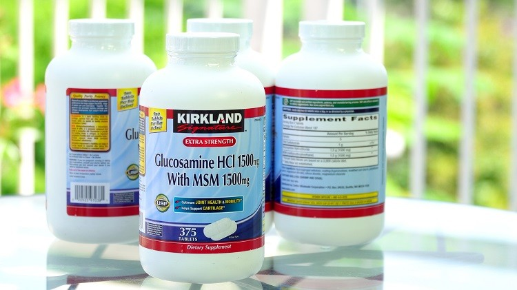 Glucosamine HCL Kirkland With MSM 1500mg