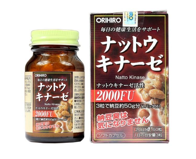 Nattolkinase 2000FU Orihiro