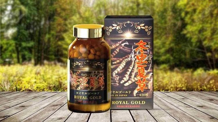 Đông Trùng Hạ Thảo Tohchukasou Royal Gold
