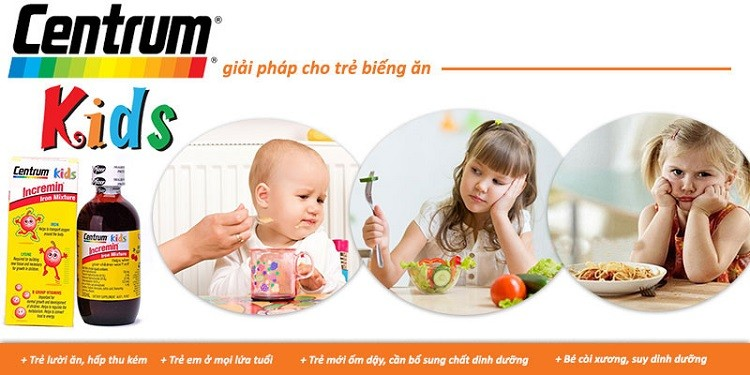 Siro Centrum Kids Incremin Iron Mixture