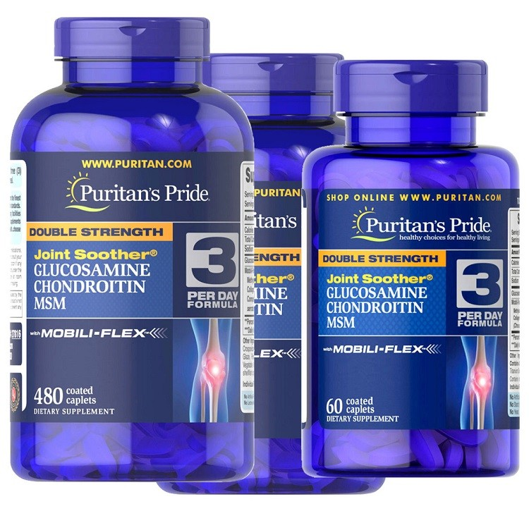 Glucosamine Chondroitin MSM Puritan's Pride