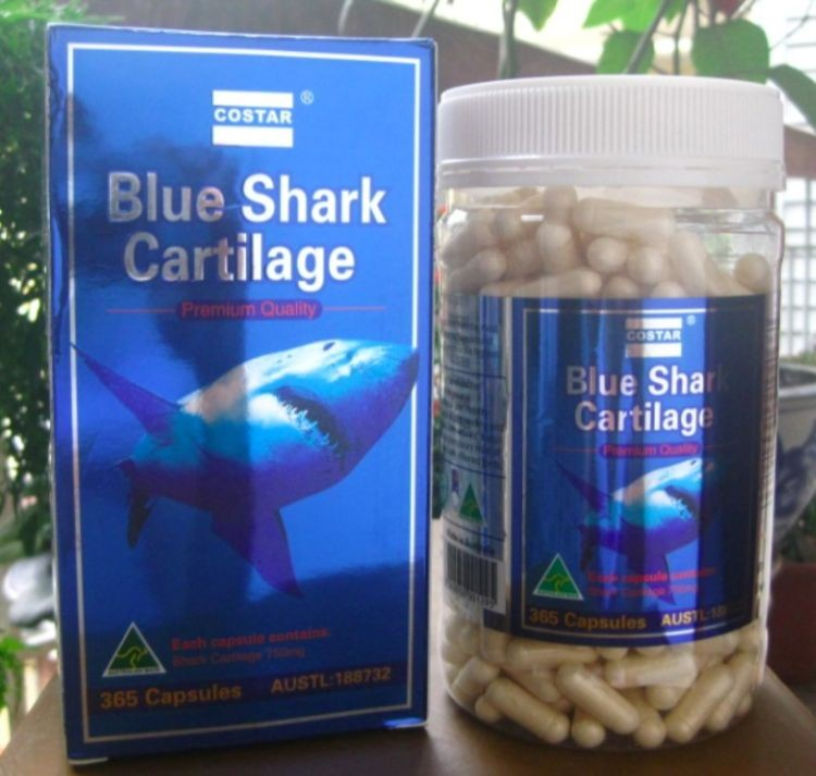 Costar Blue Shark Cartilage 750mg