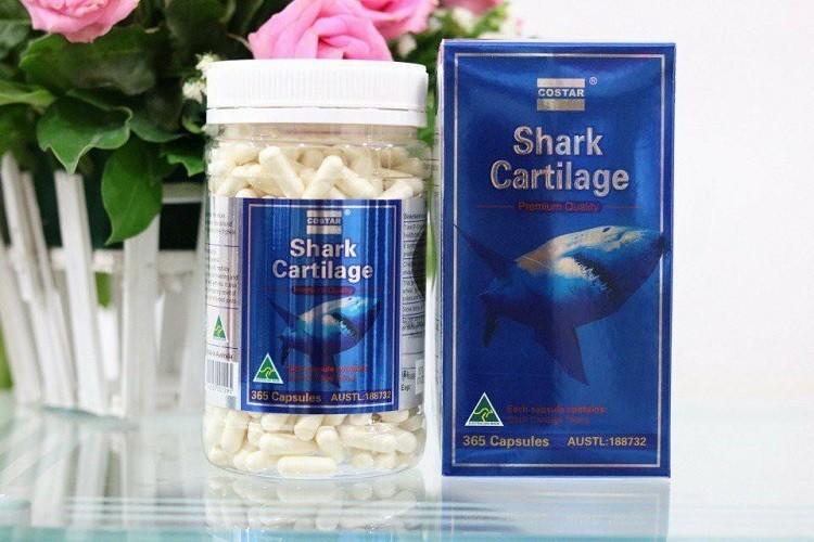 tác dụng phụ sụn cá mập Costar Blue Shark