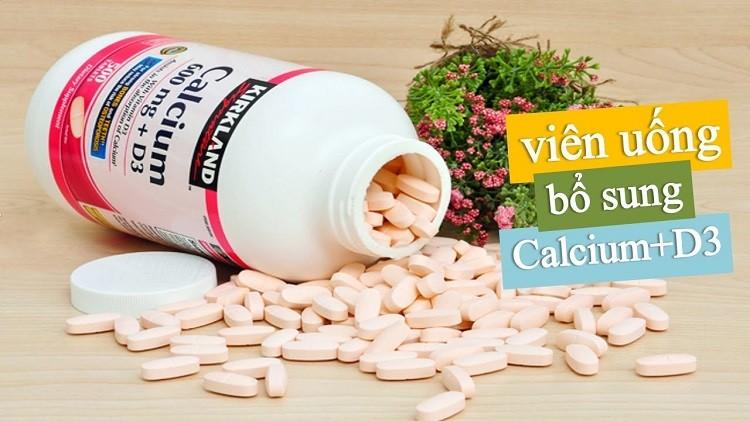 Viên uống bổ sung Calcium + D3