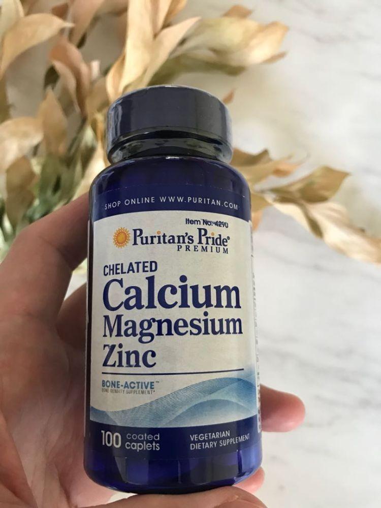 Viên uống Calcium Magnesium Zinc