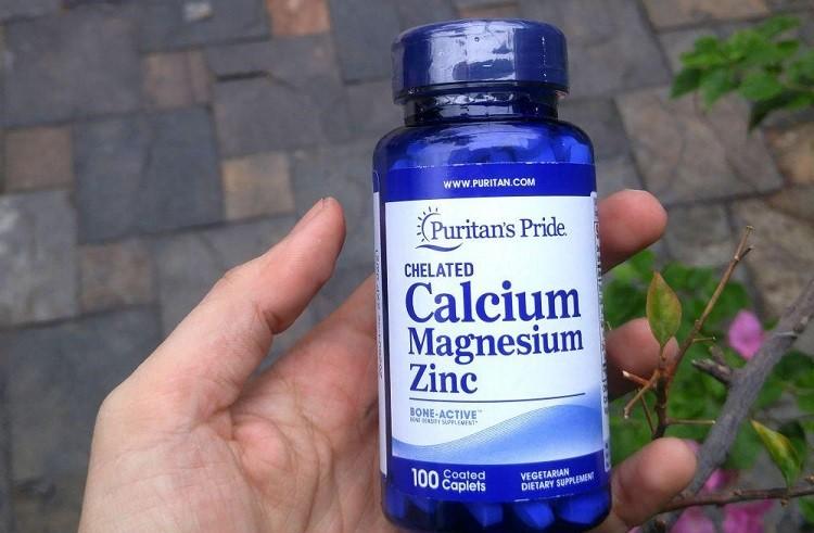 mua viên uống Calcium Magnesium Zinc 100 viên