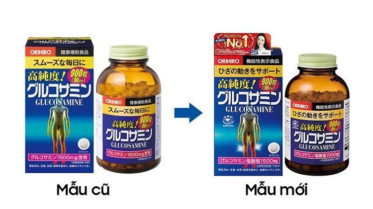 Glucosamine Orihiro 1500mg