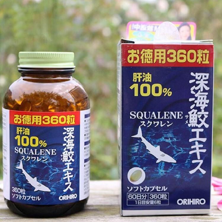 sử dụng viên uống Orihiro