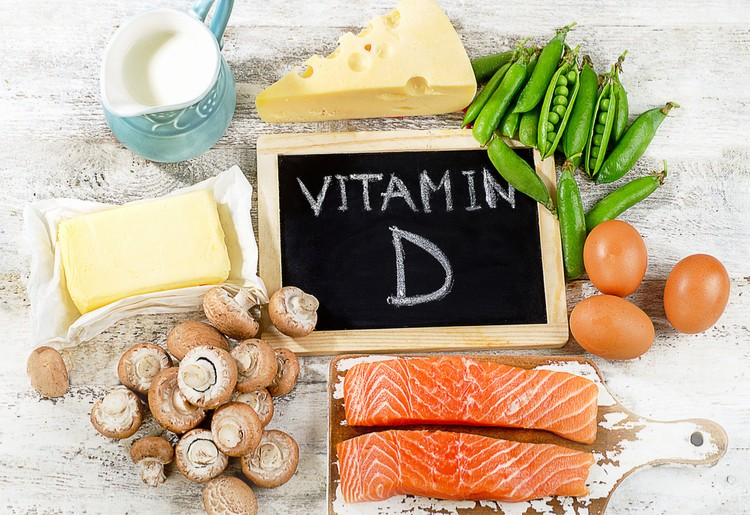 tiêu thụ vitamin D