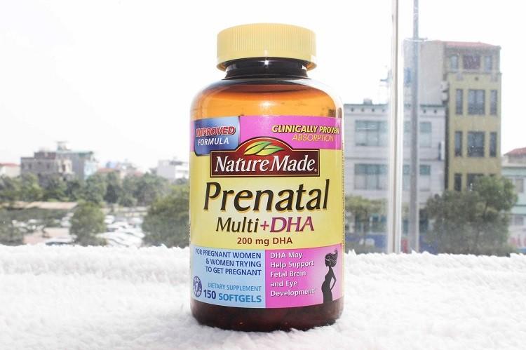 Nature Made Prenatal Multi + DHA