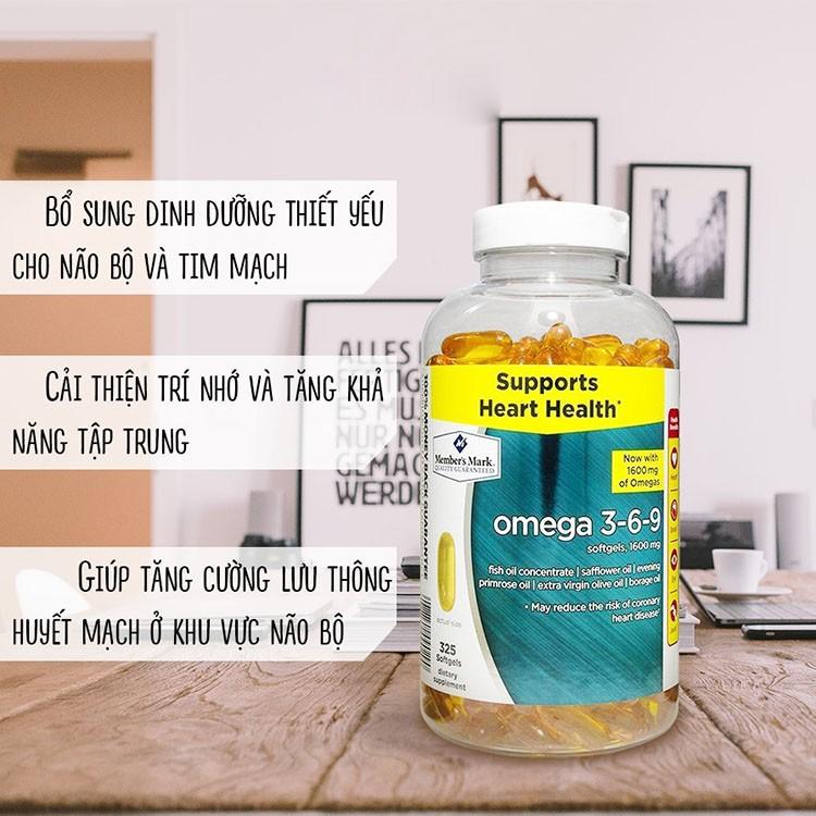 Tác dụng của omega 3-6-9