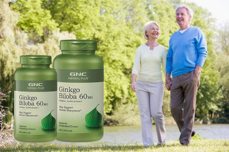 Ginkgo Biloba 50mg GNC Herbal