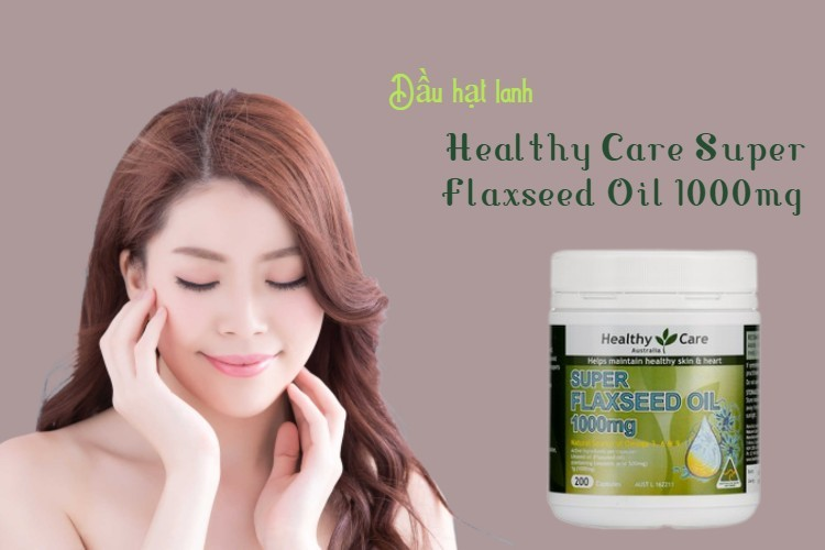 Healthy Care Super Flaxseed Oil 1000mg