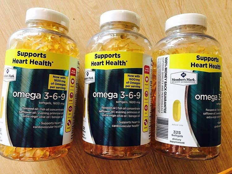 Omega 3-6-9 supports heart health