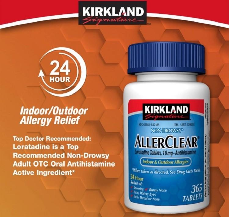 AllerClear Kirkland Signature