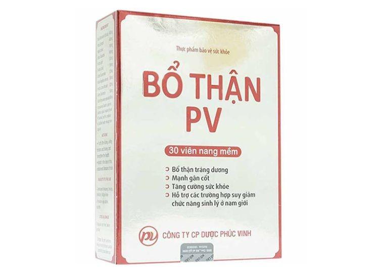 Bổ thận PV - top sản phẩm bổ thận tốt nhất hiện nay