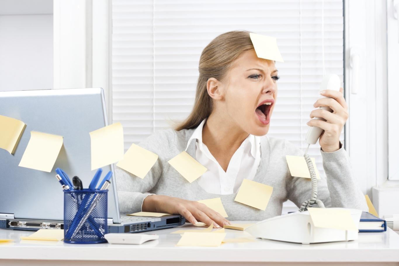 Người thường xuyên làm việc trong môi trường căng thẳng