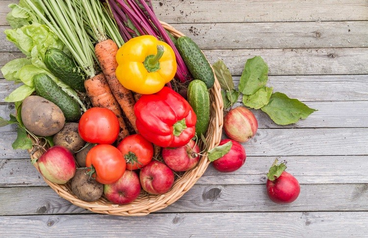 Bổ sung nhiều rau củ quả