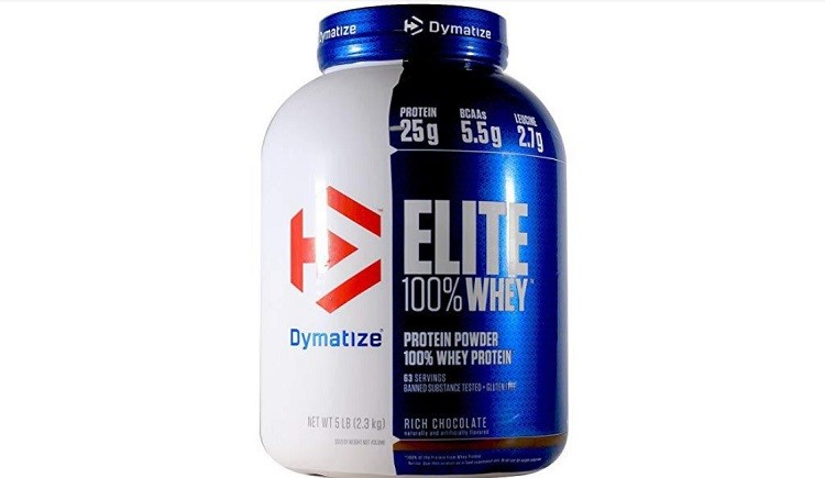 Elite Whey Protein Dymatize 5.06 Lbs
