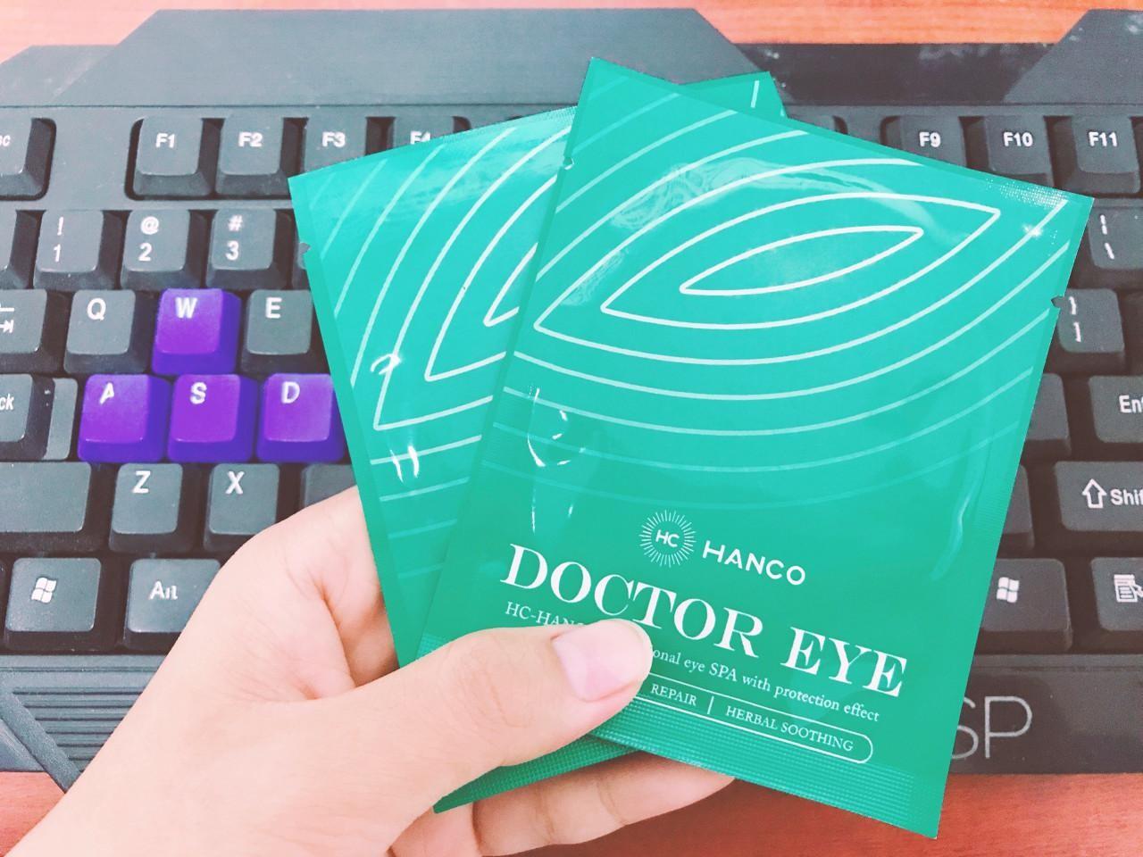 Doctor Eye HC Hanco tốt cho sức khỏe của đôi mắt mọi đối tượng