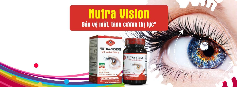 Viên uống Nutra Vision with Lutein & Bilberry được chiết xuất hoàn toàn từ thiên nhiên