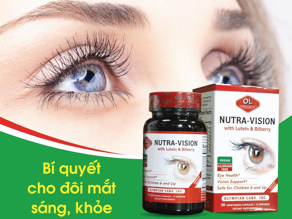 Thuốc bổ mắt Nutra Vision with Lutein & Bilberry là sản phẩm từ Mỹ