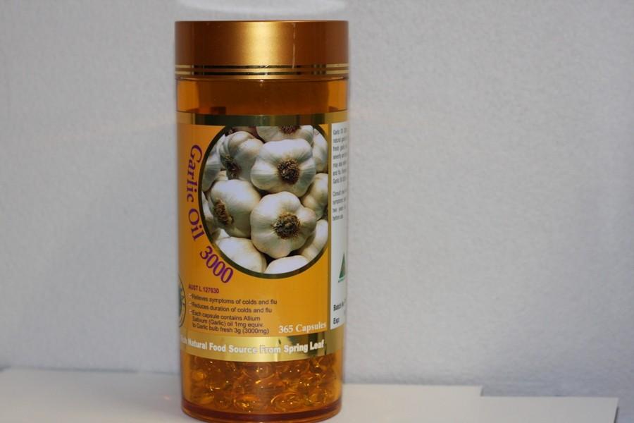 Spring Leaf Garlic Oil 3000mg là sản phẩm từ Úc